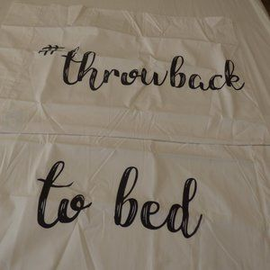 Whim by Martha Stewart Set of 2 Paired Pillowcases